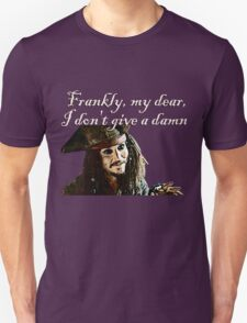 Jack Sparrow Just Doesn't Give a Damn T-Shirt
