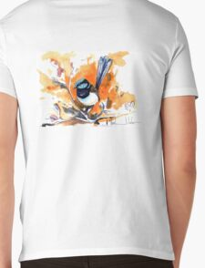 Superb Fairy Wren Mens V-Neck T-Shirt