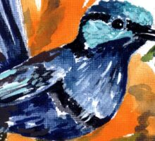 Fairy Wren Sticker