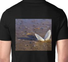 Cockle Shell  in Evening light at Fahan Unisex T-Shirt