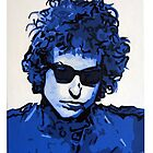 Bob Dylan Moody Blues by Patrick Hawkins