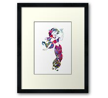 Jasmine Disney Princess Watercolor Framed Print