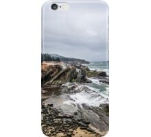 rainy day on the coast  iPhone Case/Skin
