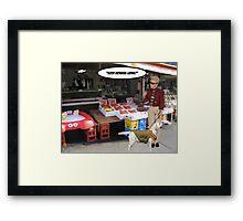 Fishy! Framed Print