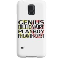 Genius, Billionaire, Playboy, Philanthropist Samsung Galaxy Case/Skin