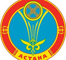 Coat of Arms of Astana by abbeyz71