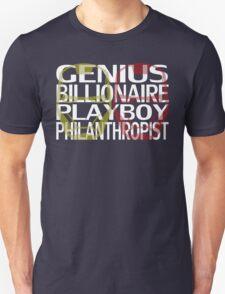 Genius, Billionaire, Playboy, Philanthropist T-Shirt