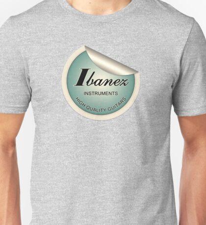 Ibanez Cool sticker Unisex T-Shirt