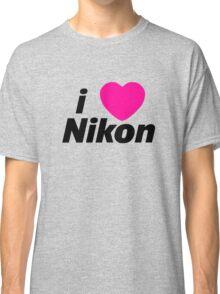 I Love Nikon -  But I own a canon! Classic T-Shirt