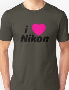 I Love Nikon -  But I own a canon! T-Shirt