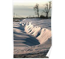 Drifted Ditch Poster