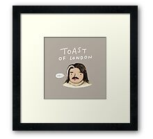 Toast of London Framed Print