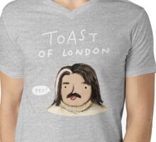 Toast of London Mens V-Neck T-Shirt