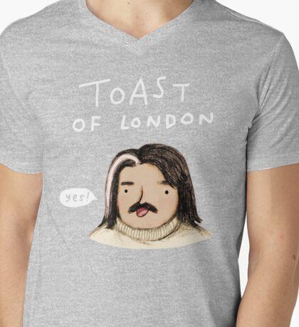 Toast of London Mens V-Neck T-Shirt