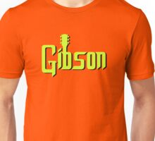 Green Black Gibson  Unisex T-Shirt