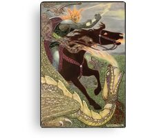 Falcon the Dragon Hunter Canvas Print