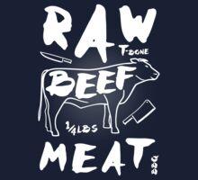 Raw Beef meat Kids Tee