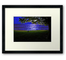 molly by the sea Framed Print