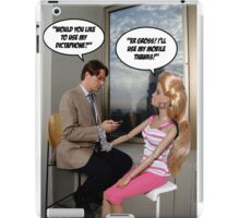 Would you like to use my Dictaphone? iPad Case/Skin