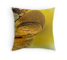 On the Wild Wing of Dawn Throw Pillow