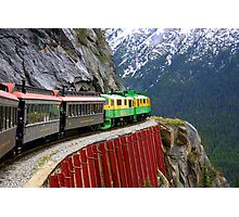 Breathtaking View from the White Pass Rail Train Photographic Print