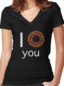 I <3 you Women's Fitted V-Neck T-Shirt