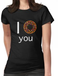 I <3 you Womens Fitted T-Shirt