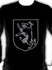 A Complete Guide to Heraldry - Figure 353 — Boar rampant T-Shirt