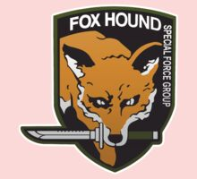 Fox Hound Special Force Group Kids Tee