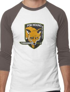 Fox Hound Special Force Group Men's Baseball ¾ T-Shirt