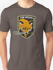 Fox Hound Special Force Group Unisex T-Shirt