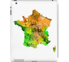 Map of  France iPad Case/Skin