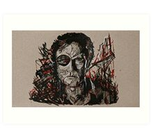 TWD The Governor Art Print