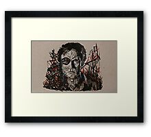 TWD The Governor Framed Print