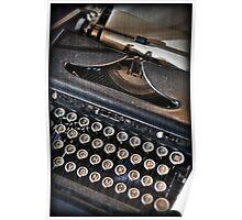 This Old Typewriter Writes... Dear ...  Poster