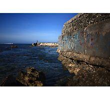 Blue Harbor Photographic Print