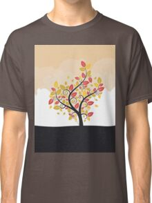 Stylized Autumn Tree Classic T-Shirt