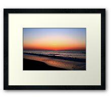 Break of Dawn Framed Print