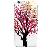 Stylized Autumn Tree 4 iPhone Case/Skin