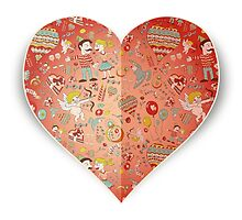 Heart of doodle elements by Agor2012