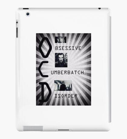 Obsessive Cumberbatch Disorder iPad Case/Skin