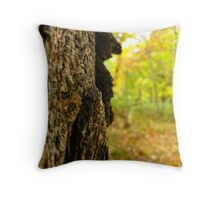 A Blurred Atumn Throw Pillow
