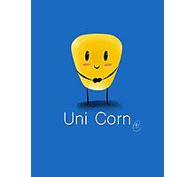 Uni Corn Photographic Print