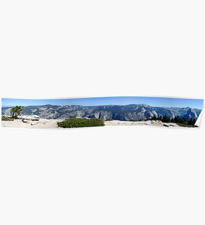 Half dome to E Capitan Northern View Poster