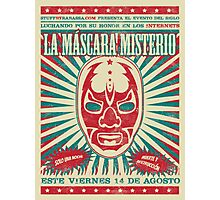 The Mysterious Mask Photographic Print