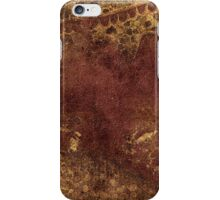 Dark yet warm forest iPhone Case/Skin