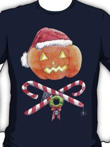 Pumpkin Santa T-Shirt
