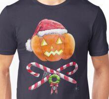 Pumpkin Santa Unisex T-Shirt