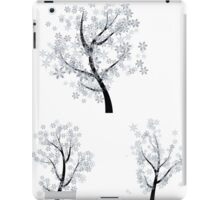 Trees with Snowflakes iPad Case/Skin