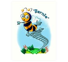 Bernie Bumble Bee Art Print